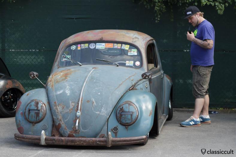 slammed VW Split Bug Show Spa 2013