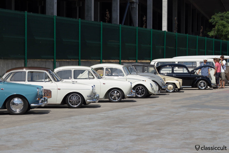 Type 3, Beetle, 181 Thing, Bus at Bug Show 2013