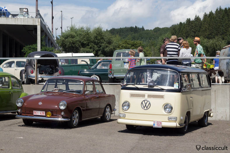 VW T2a Bay Bus and Type 3 Notchback