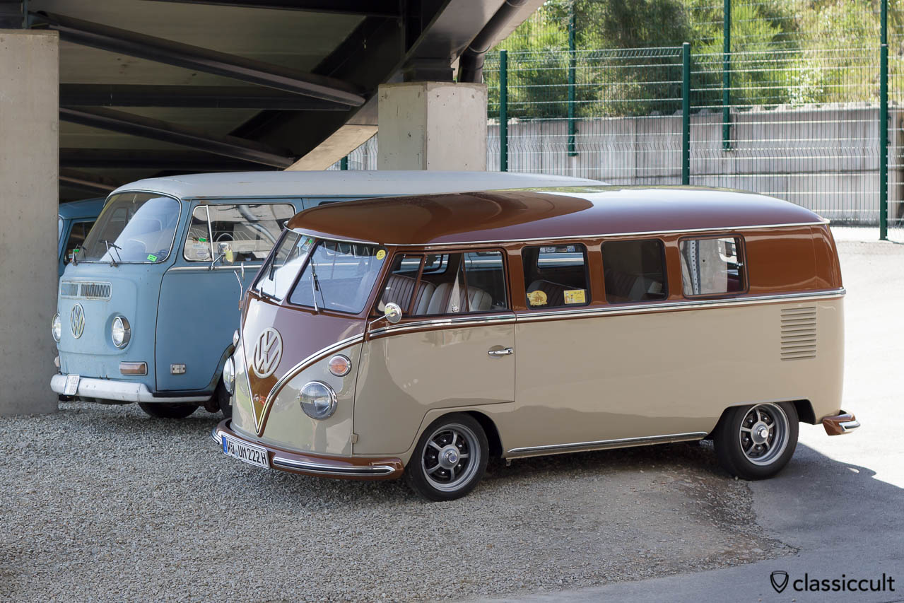 restored VW T1 Split