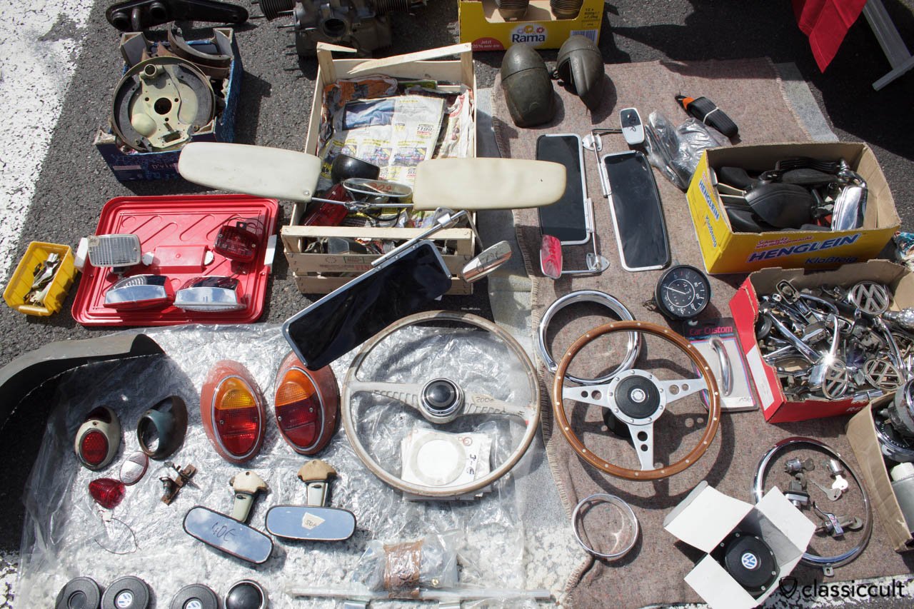 Vintage VW Beetle parts