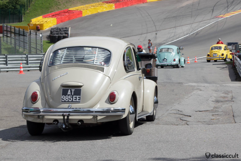 VW 1300 Beetle at Circuit de Spa