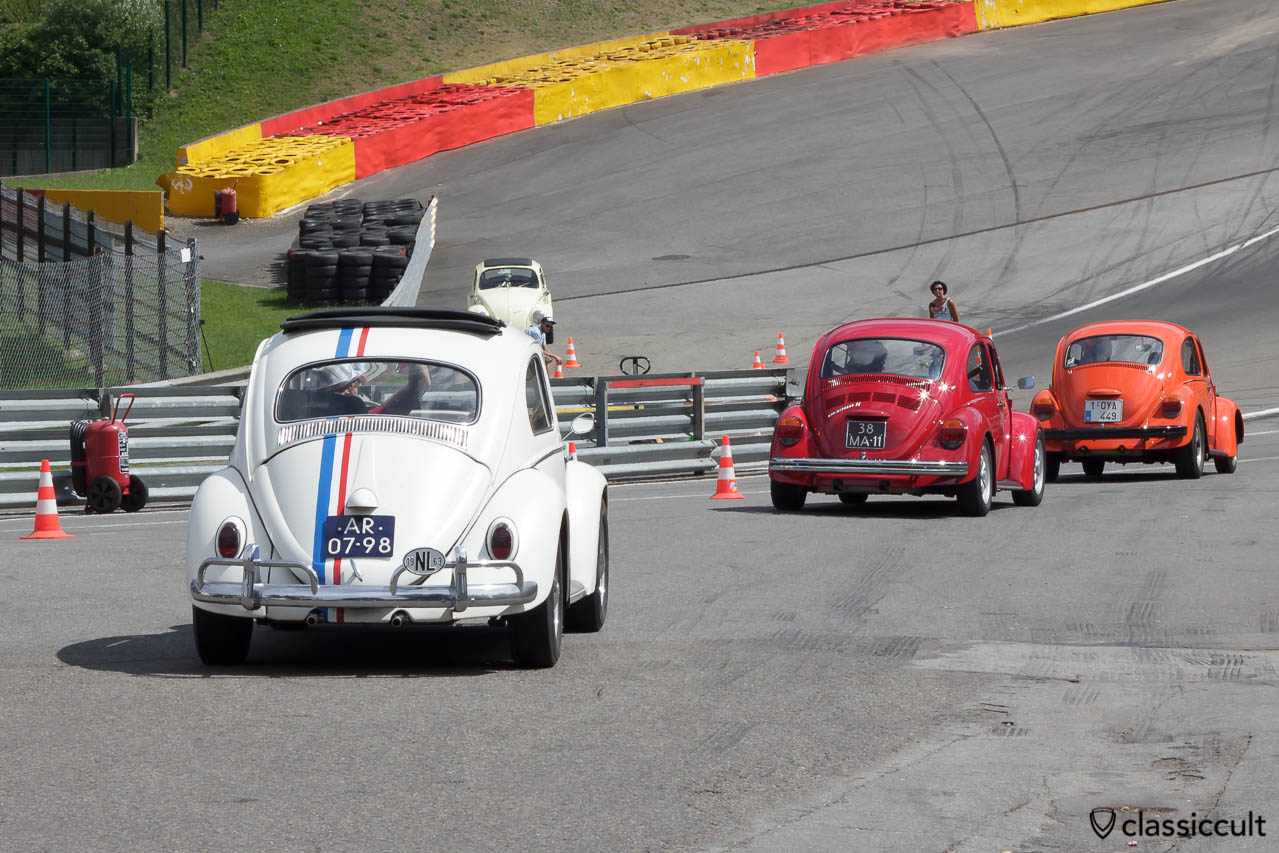 1963 VW Ragtop Bug from Nederland at Circuit de Spa