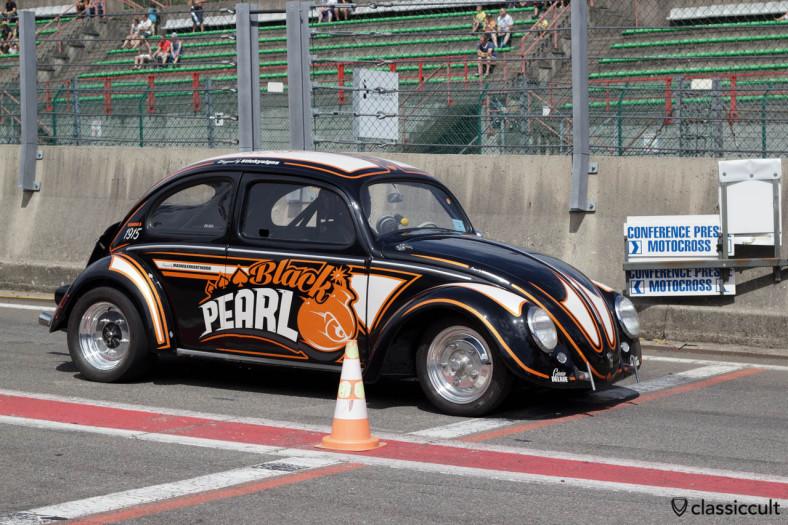 Black Pearl VW Oval Bug