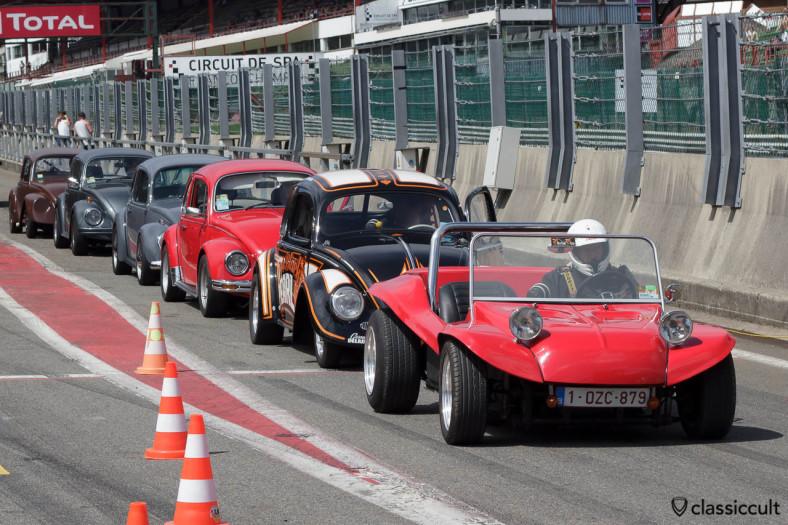 Racing Buggy at VW Bug Show Spa 2013