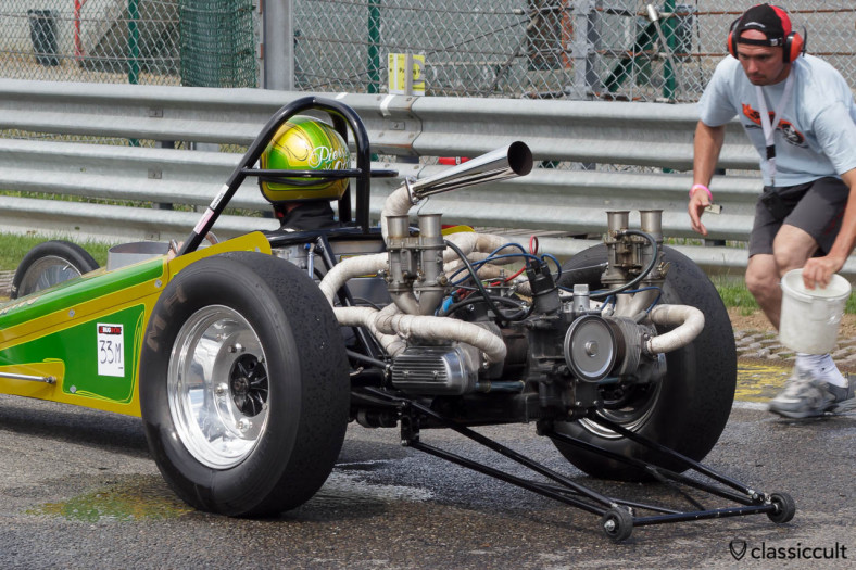 VW Otto Bros Dragster Mosquito engine