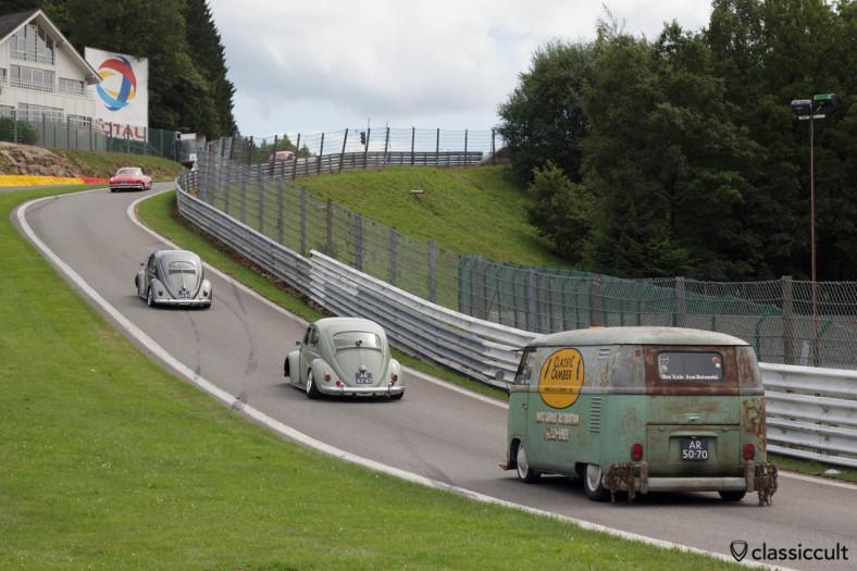 Air-cooled VW at Circuit de Spa VW Bug Show 2013