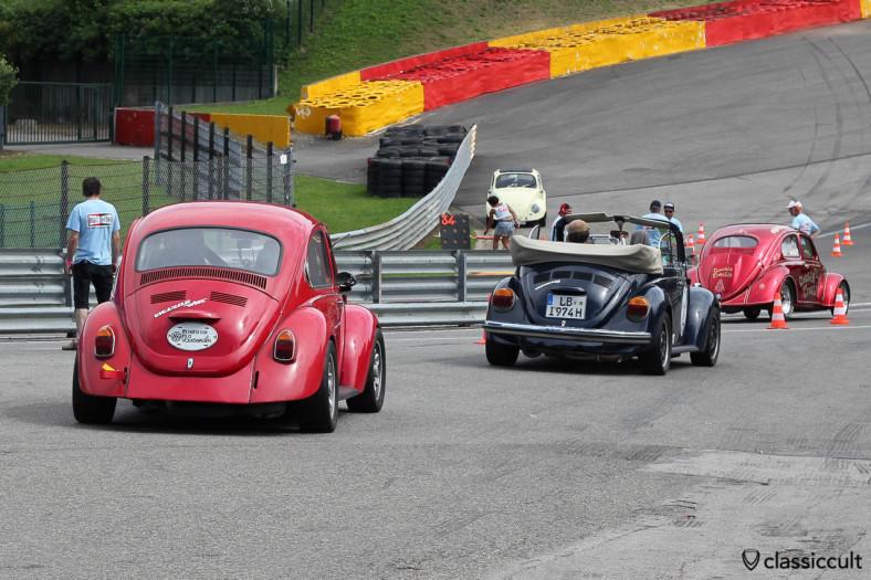 VW 1302 WBX Beetle on Circuit de Spa.