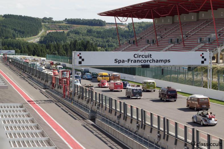 VW Parade Circuit Spa