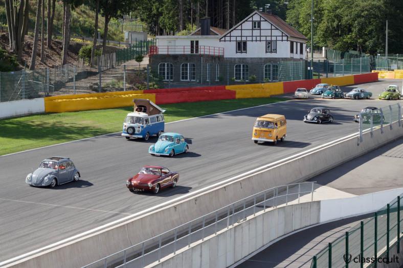 VW Parade Circuit de Spa Francorchamps 2013