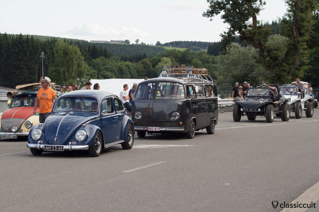 1961 Beetle, VW T2 Gatso and Buggys SPA 2013