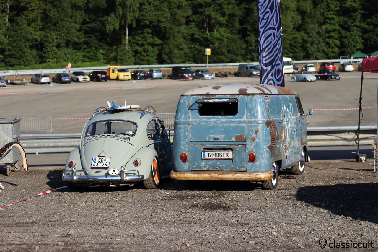 VW Beetle and T1 Panel from Austria