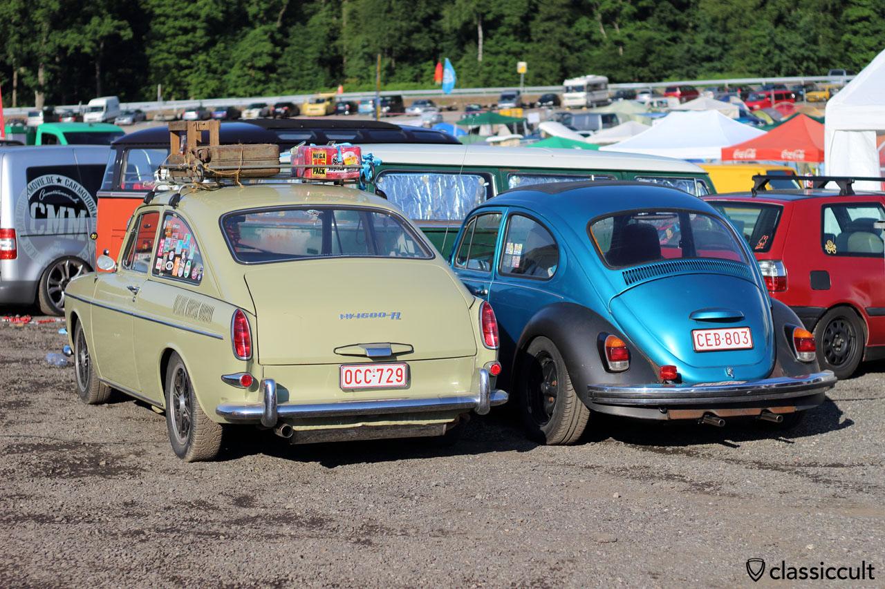 VW Type 3 fastback 1600 TL