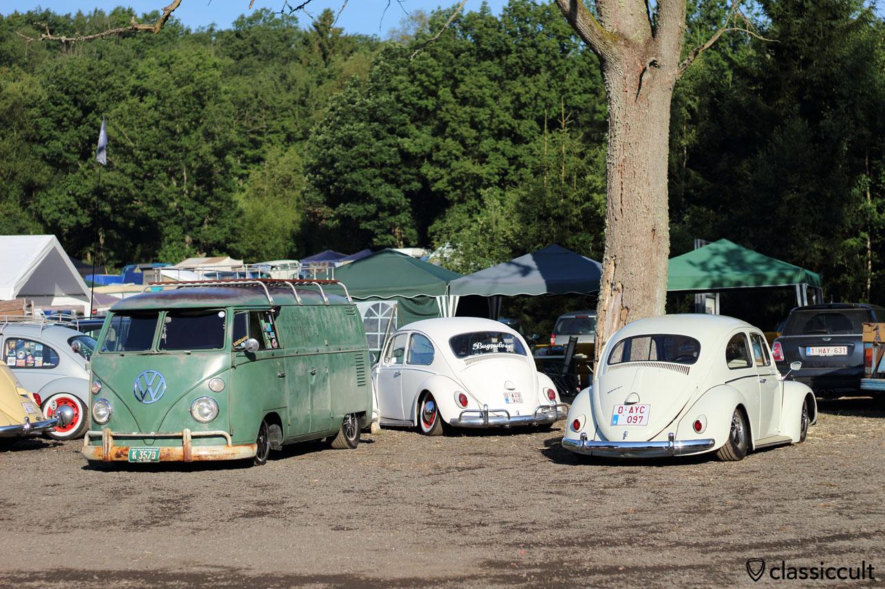 low T1 Panel Van, low Bugpulver VW Beetle