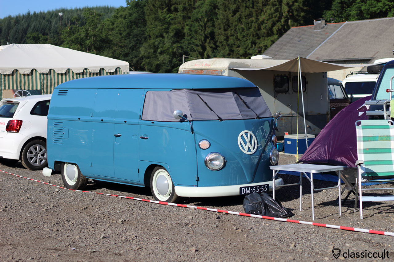T1 Panel Van from volksfahrer.nl, Netherlands, sleeping strong, 8:34 a.m.