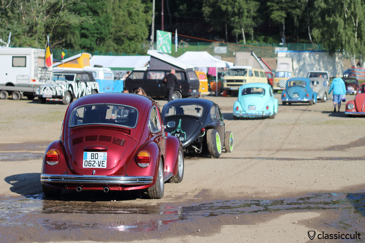 VW Beetles at Bug Show Meeting Spa 2015