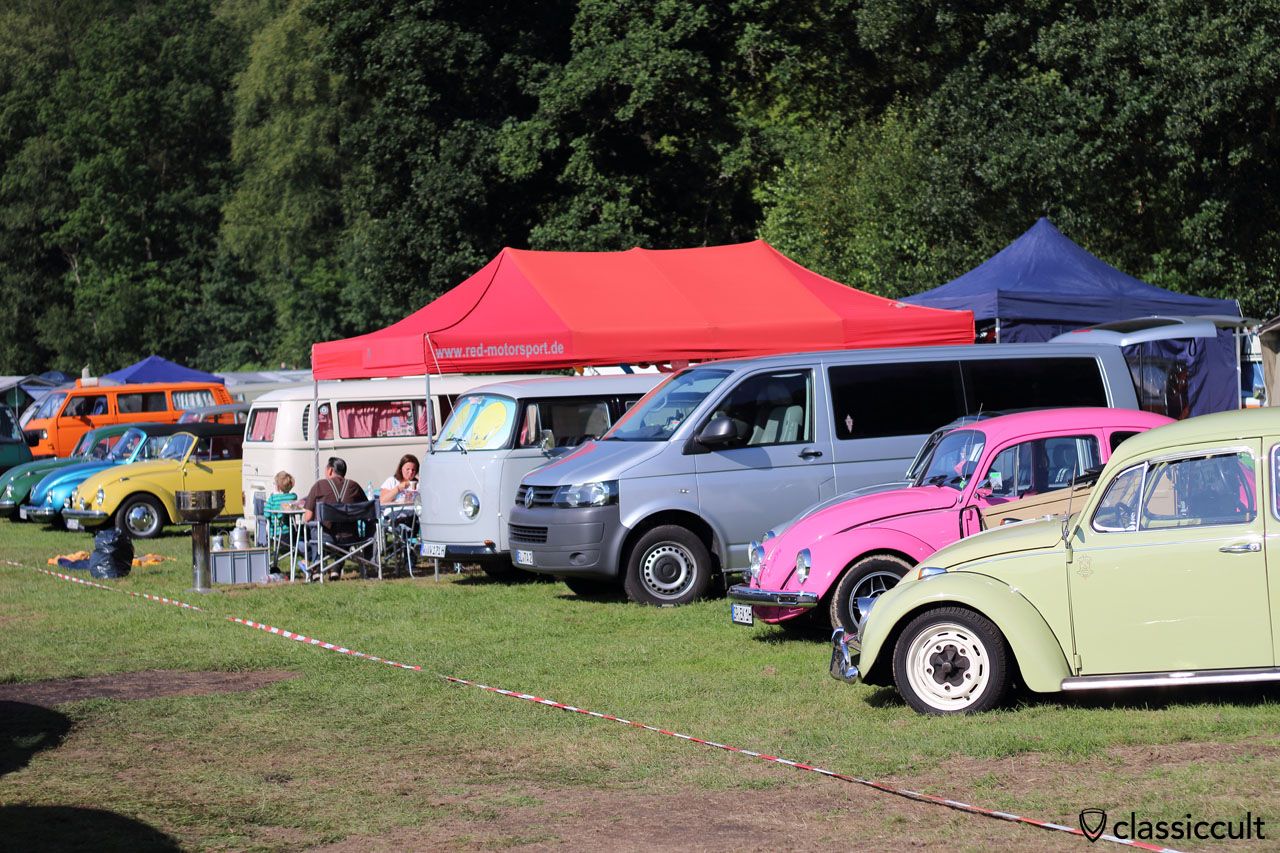 VW Camping, Bug Show Spa