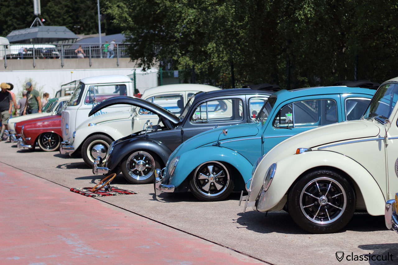 VW Cal look, Bug Show 2015