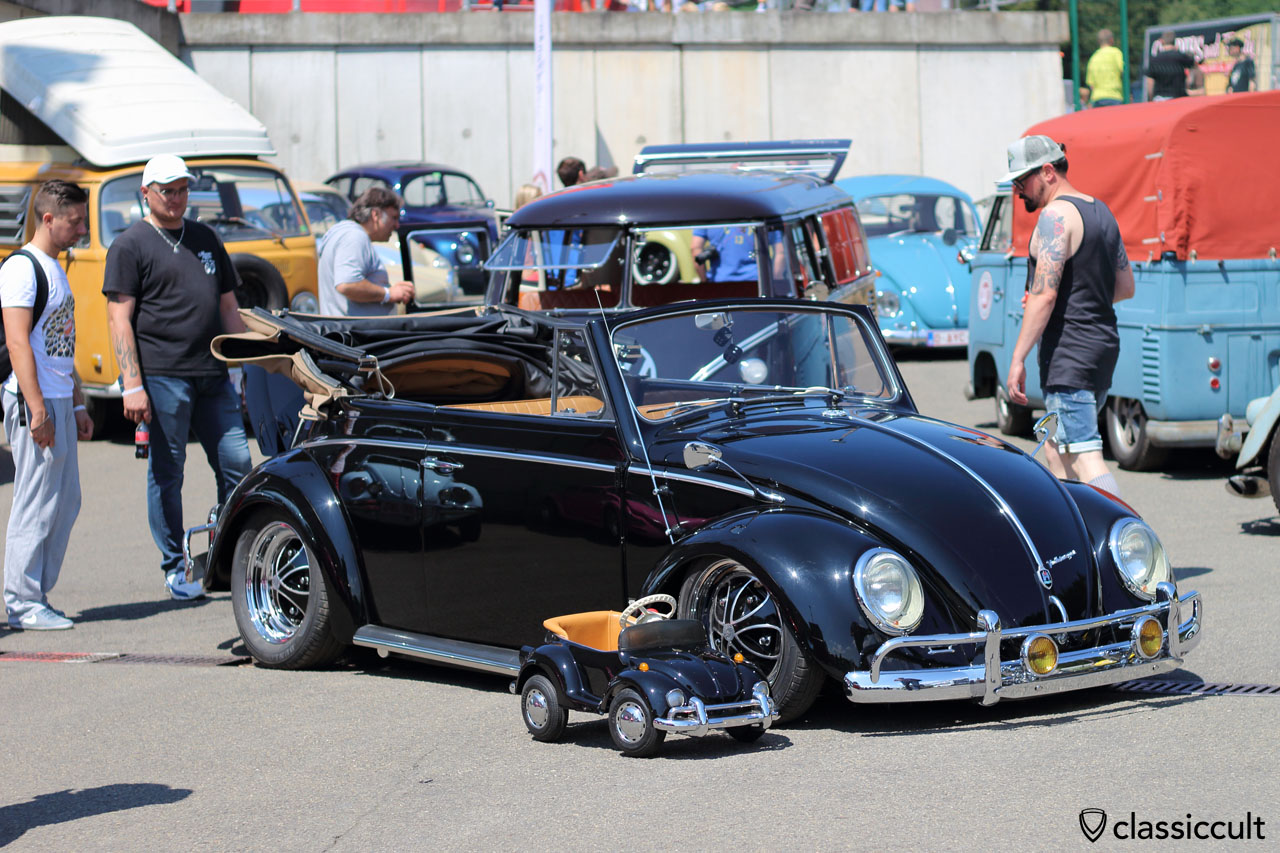 VW Cabrio Beetle for kids