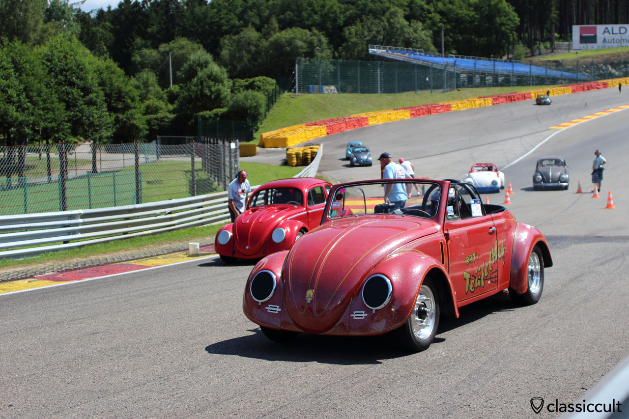Teufelheb, Drag race demonstration Bug Show 2015