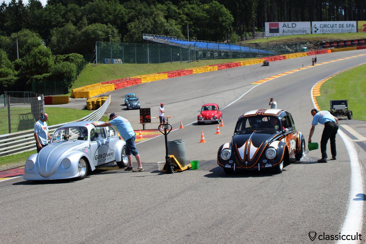 GEKO tuning and Black Pearl race Beetles