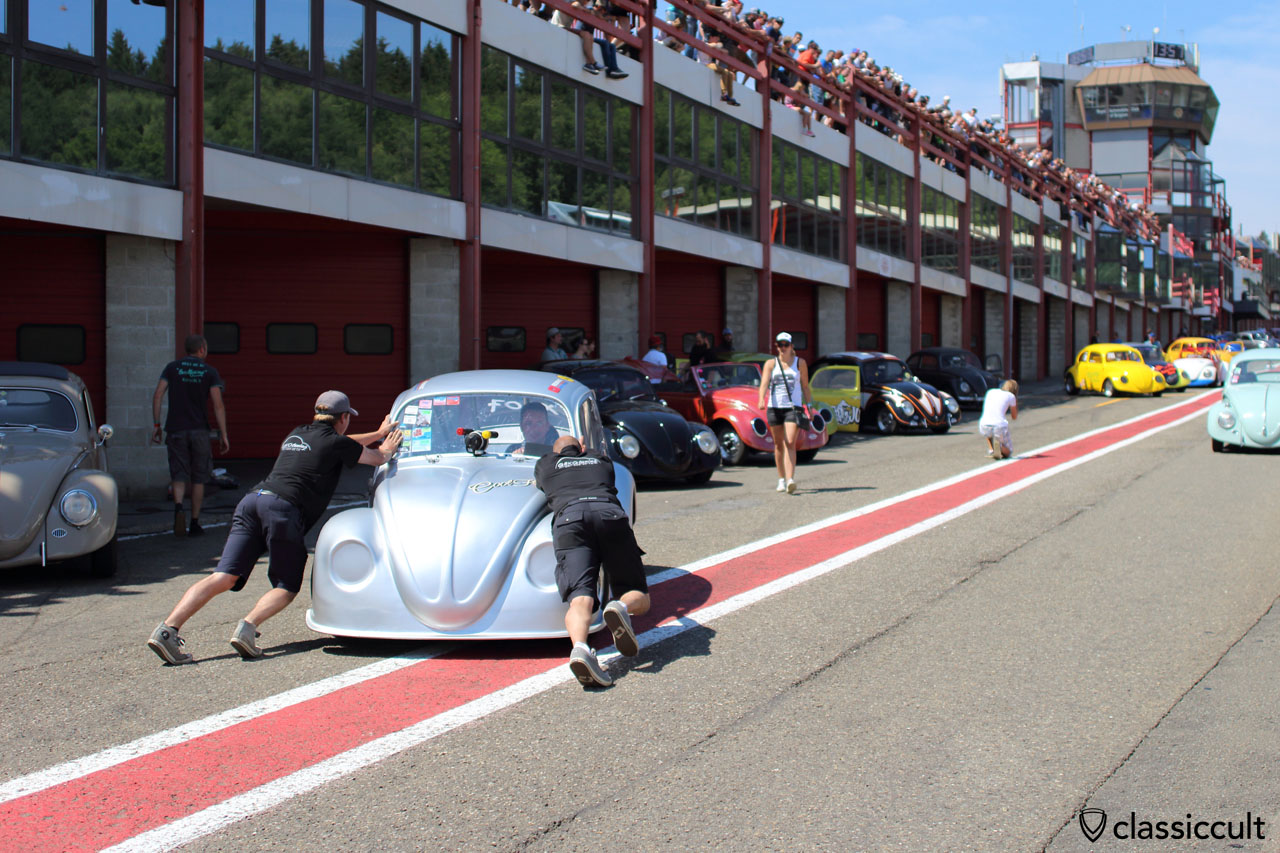 Race Beetles Pit Stop, Spa Francorchamps VW Show