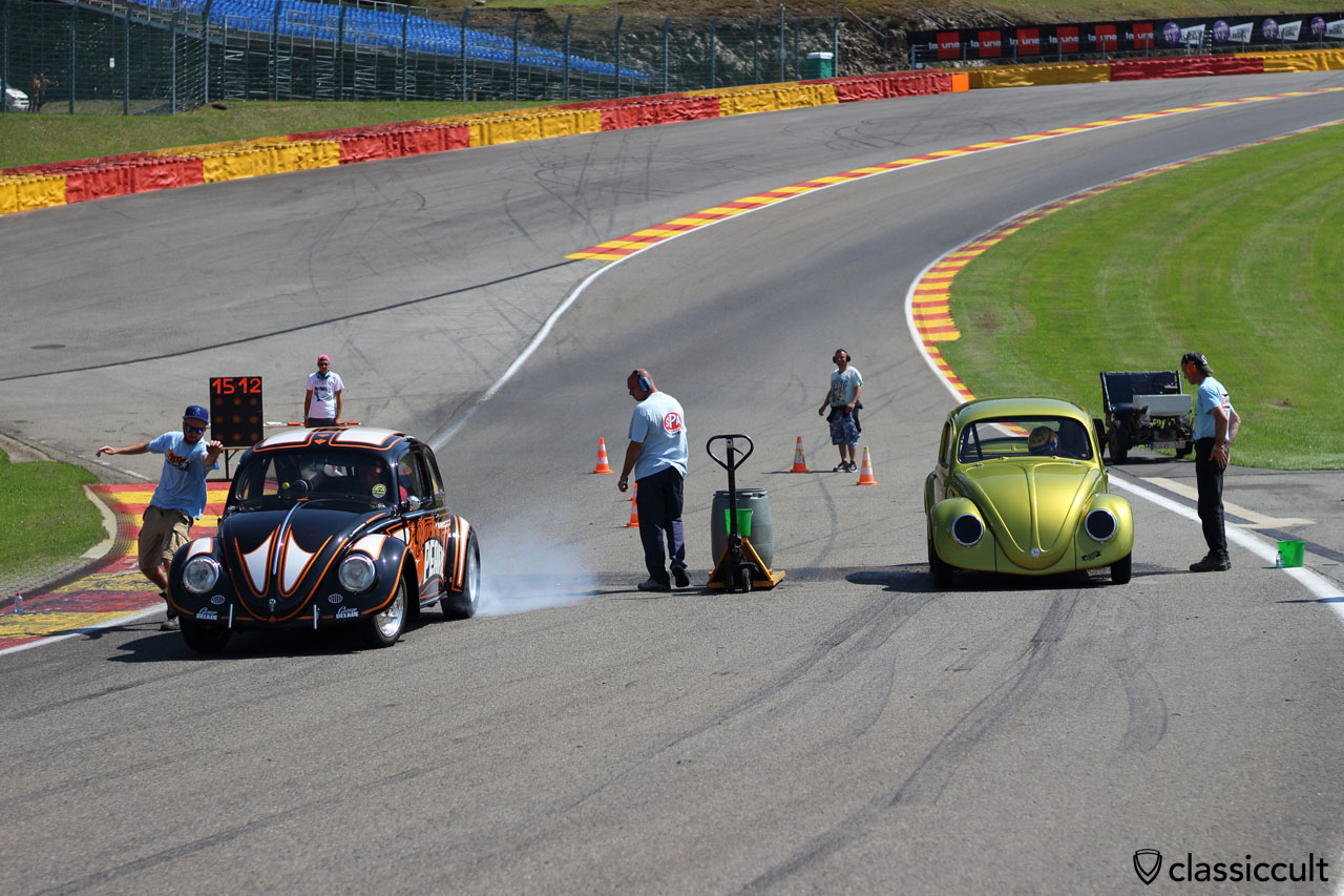 VW BUG SHOW SPA Drag Race 2015