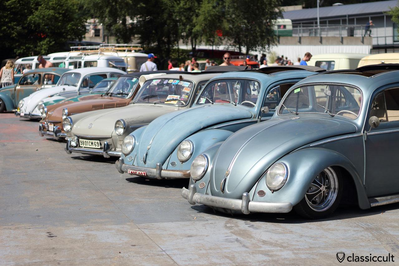 Classic VWs, Show & Shine area