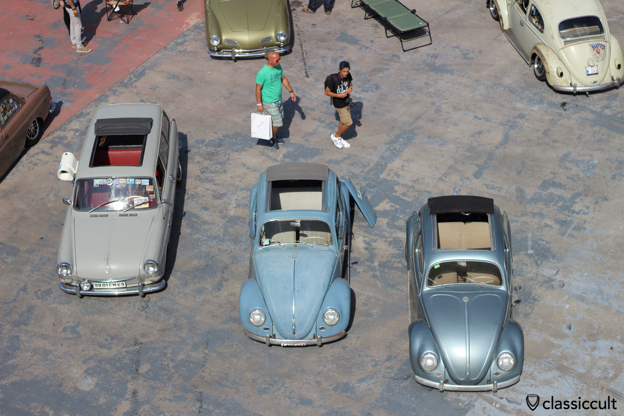 VW Ragtop Typ3 and Beetles