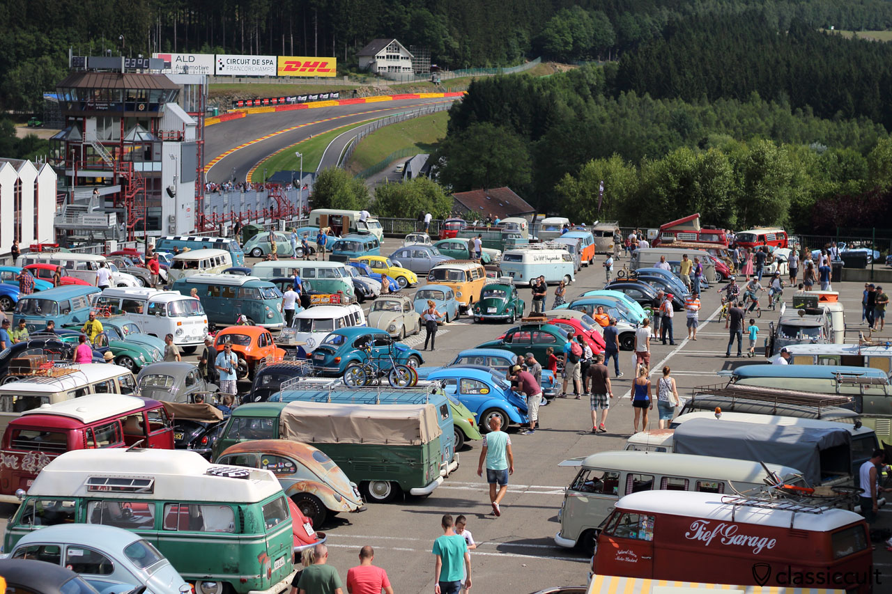 VW Bugshow Spa 2015