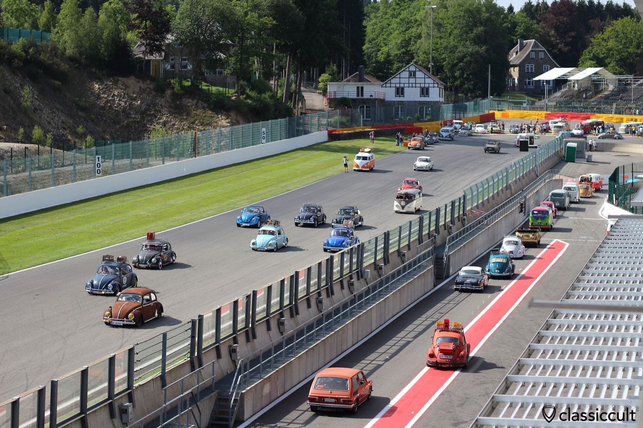 VW Parade Spa-Francorchamps Bug Show 2015