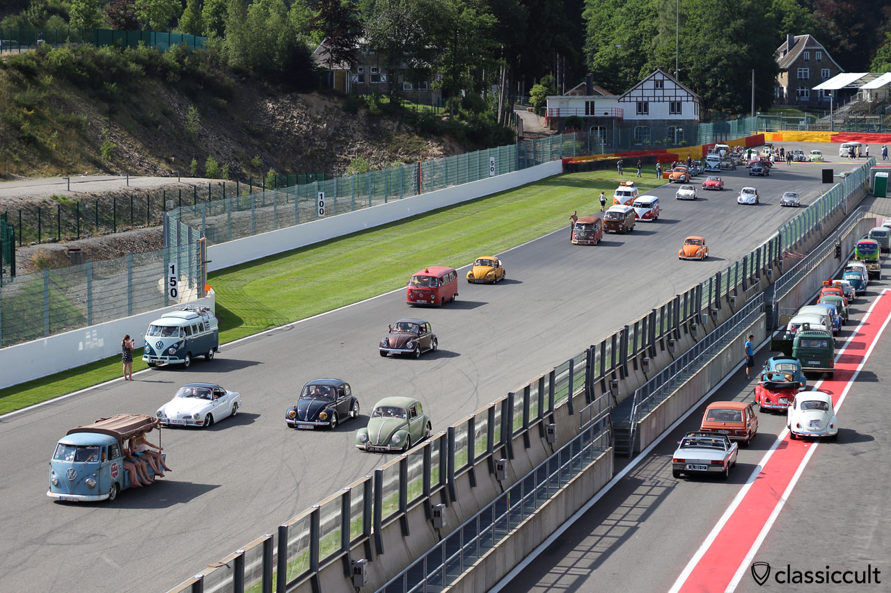 Bugshow 2015 Parade Circuit Spa-Francorchamps