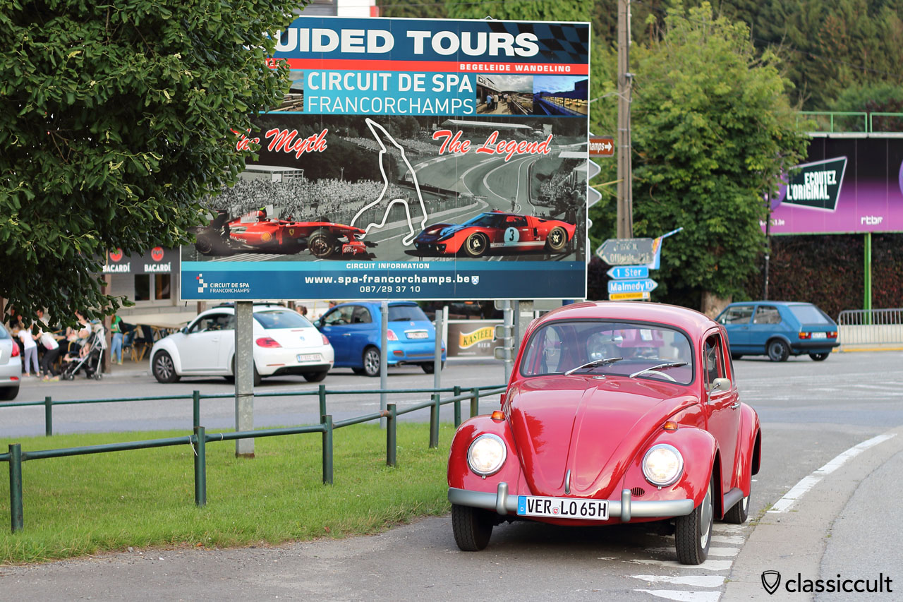 My VW Beetle at Bug Show 2015 Spa Francorchamps