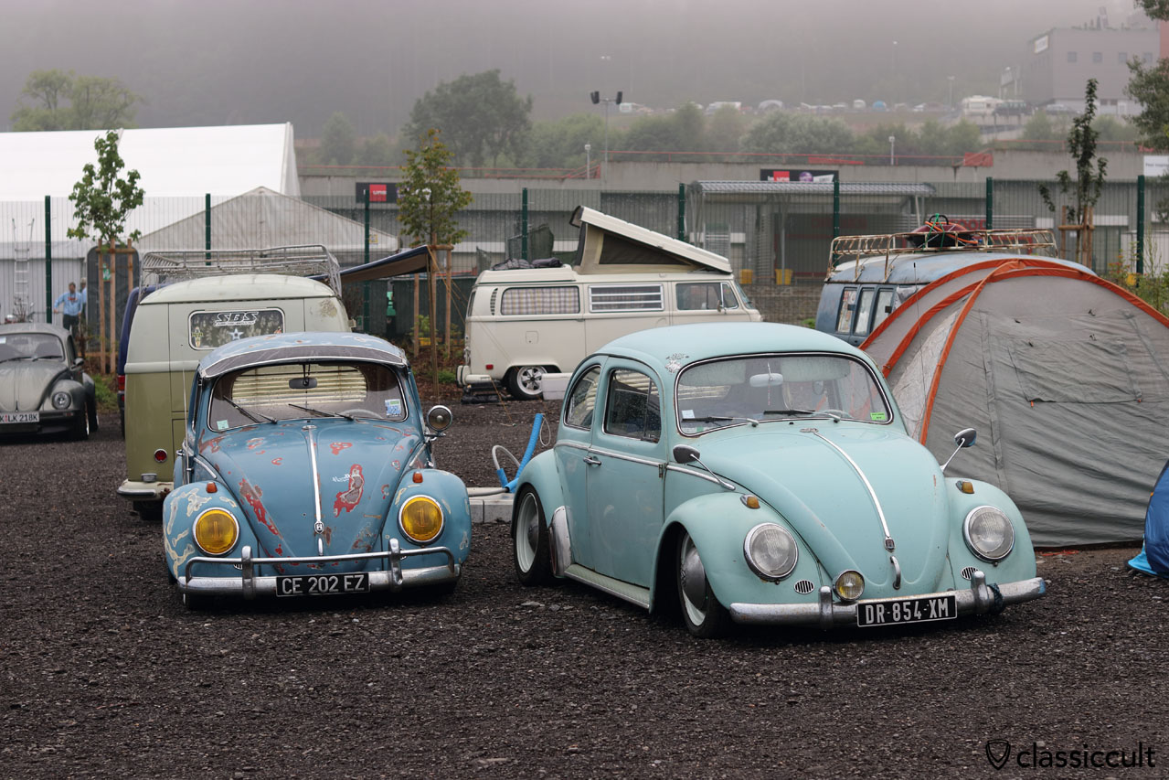 VW Fans camping old school at P1, Bug Show 2016