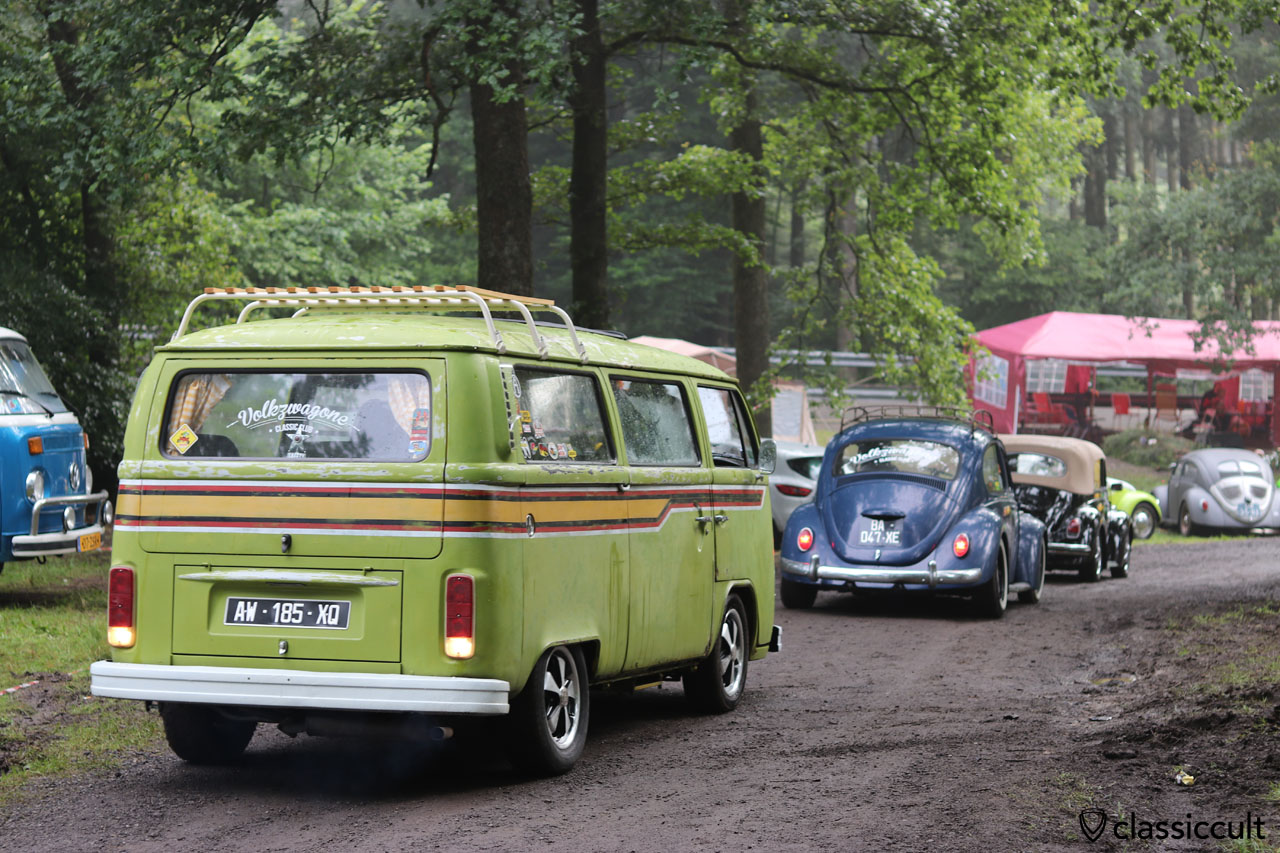 VW fans cruising to the spa race track