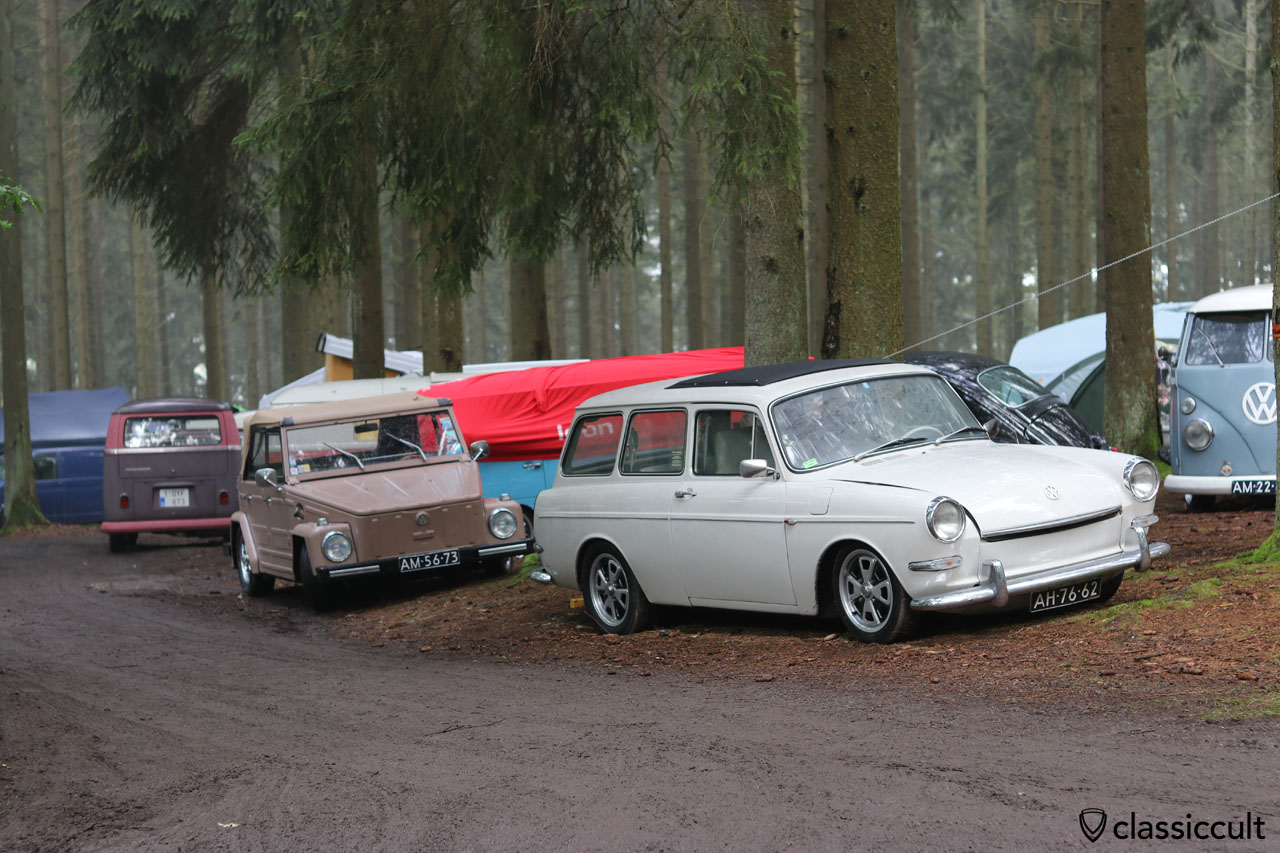 VW Type 3 squareback, 181 and T2a