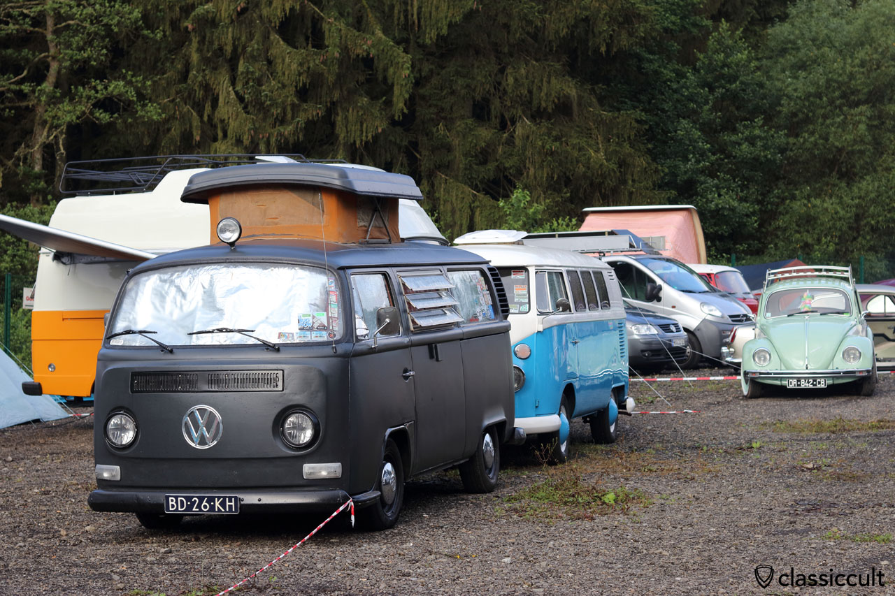 Camping VW Meeting Spa Francorchamps 2016