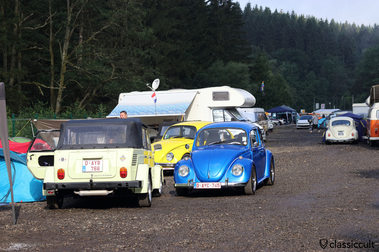 yellow 181 and blue Beetle from Belgium