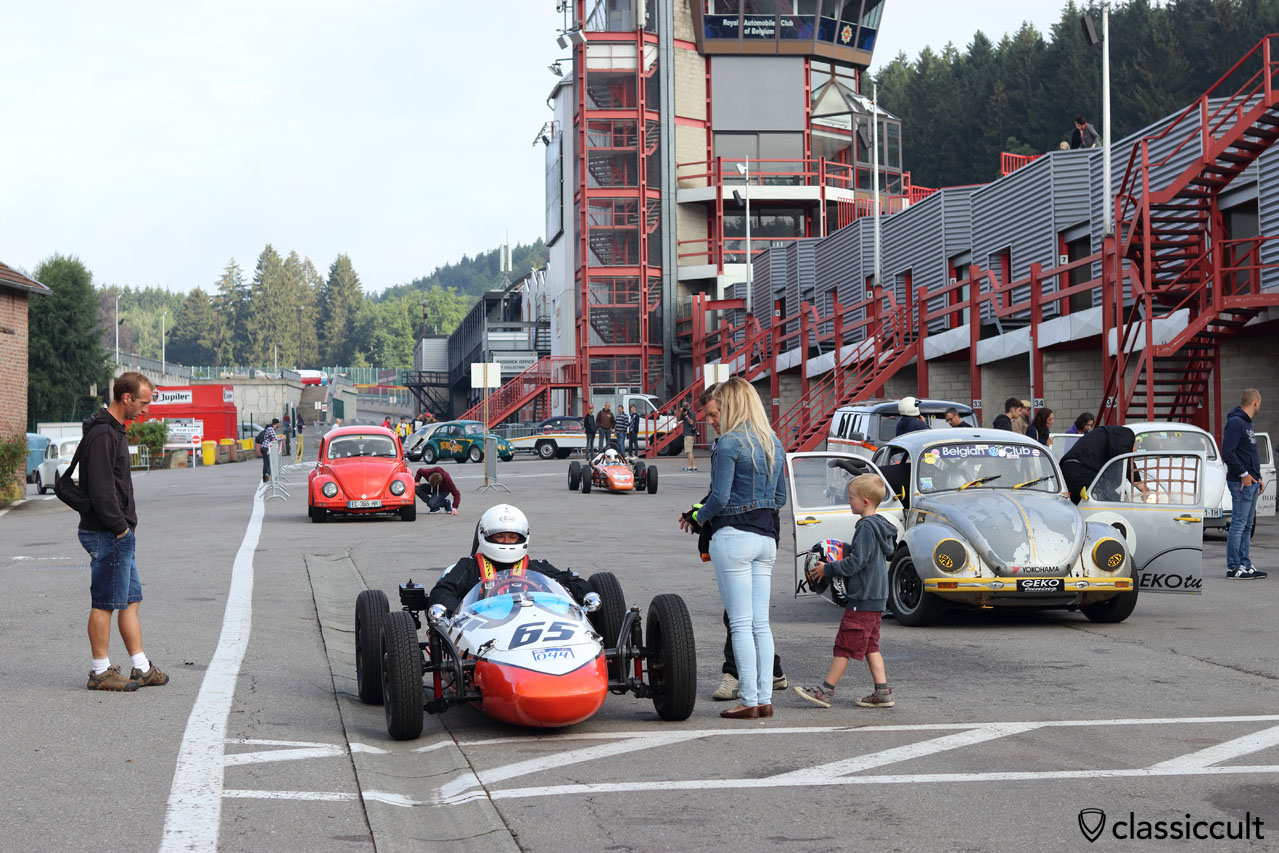 Le Bug Show 2016, Circuit de Spa Racetrack, 9:31 a.m.