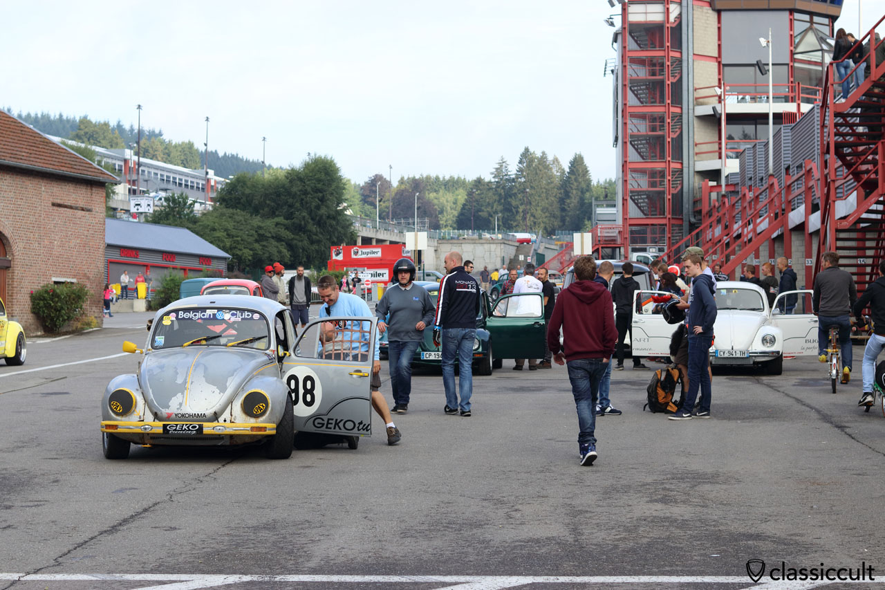 Belgian VW Club, GEKO tuning, Spa 2016