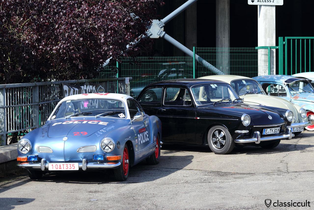 Police VW Karmann Ghia