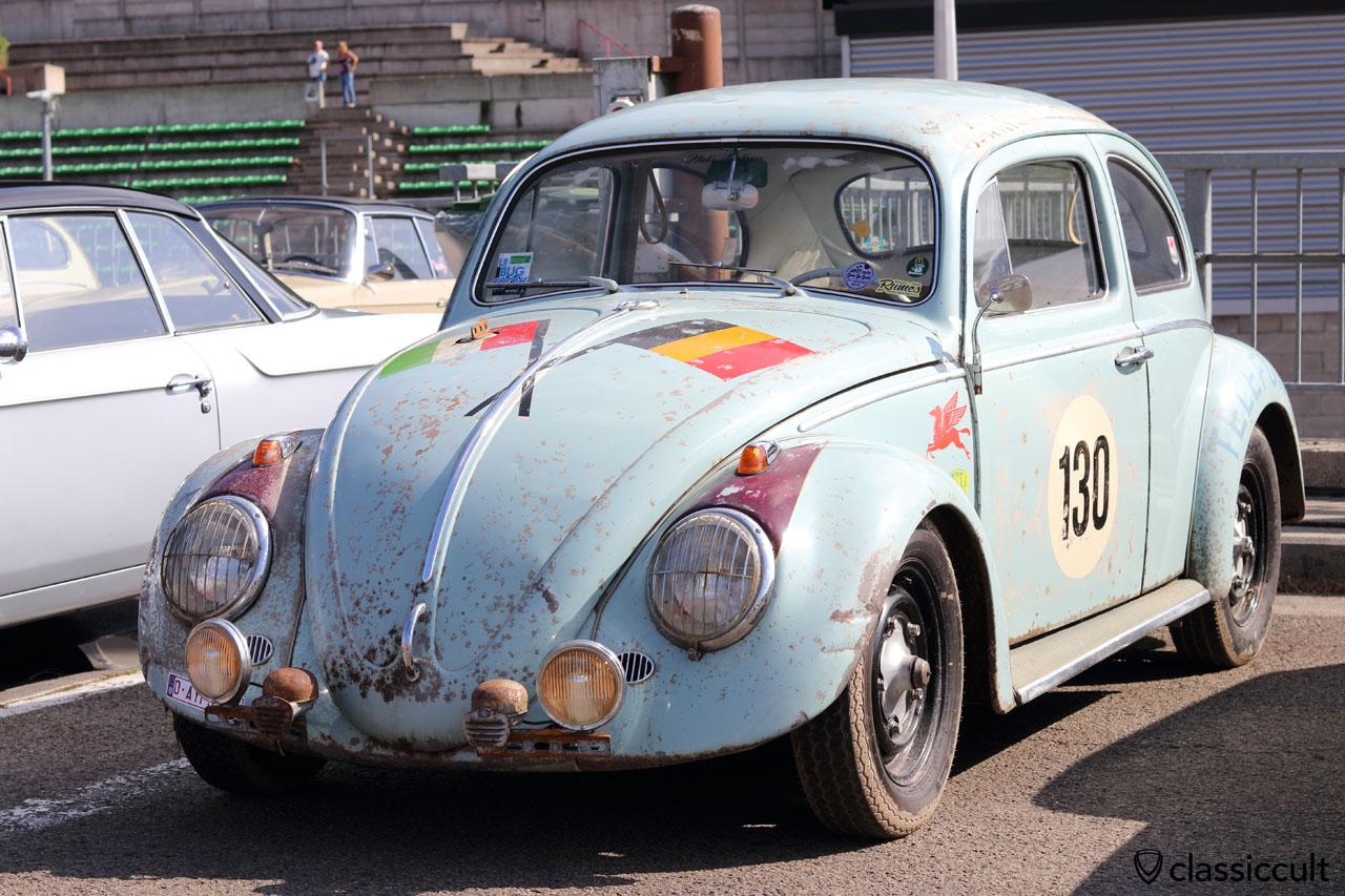 Rallybug with Hella fanfare horns and Hella fog lights