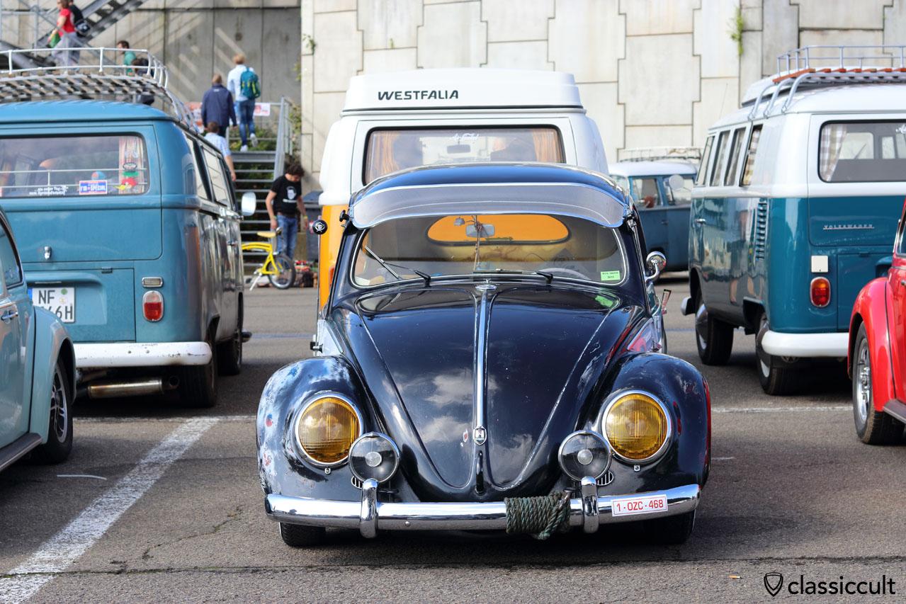 VW Oval with external sun visor