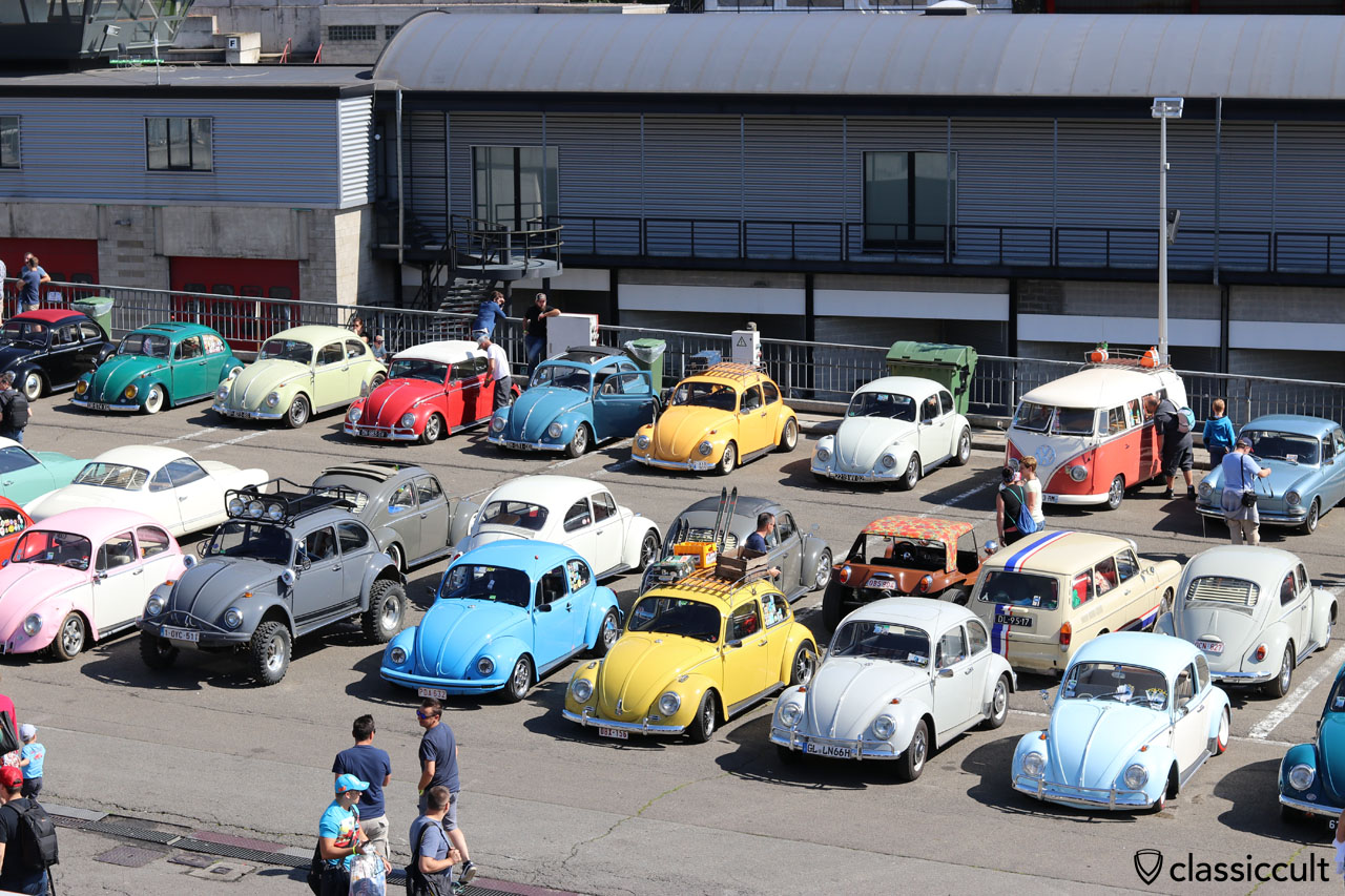 VW Bug Show in Spa 2016