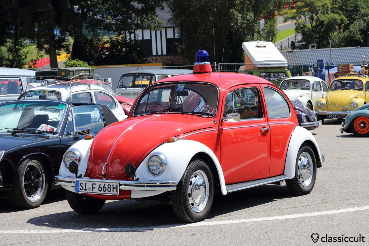 1968 VW Feuerwehr Käfer, Top