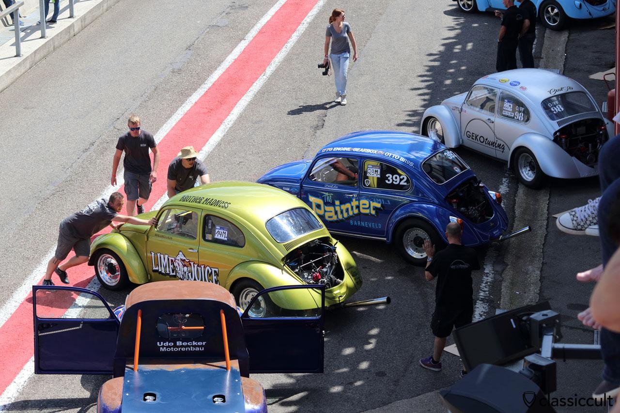 LIME JUICE VW Beetle, Spa Drag Race 2016