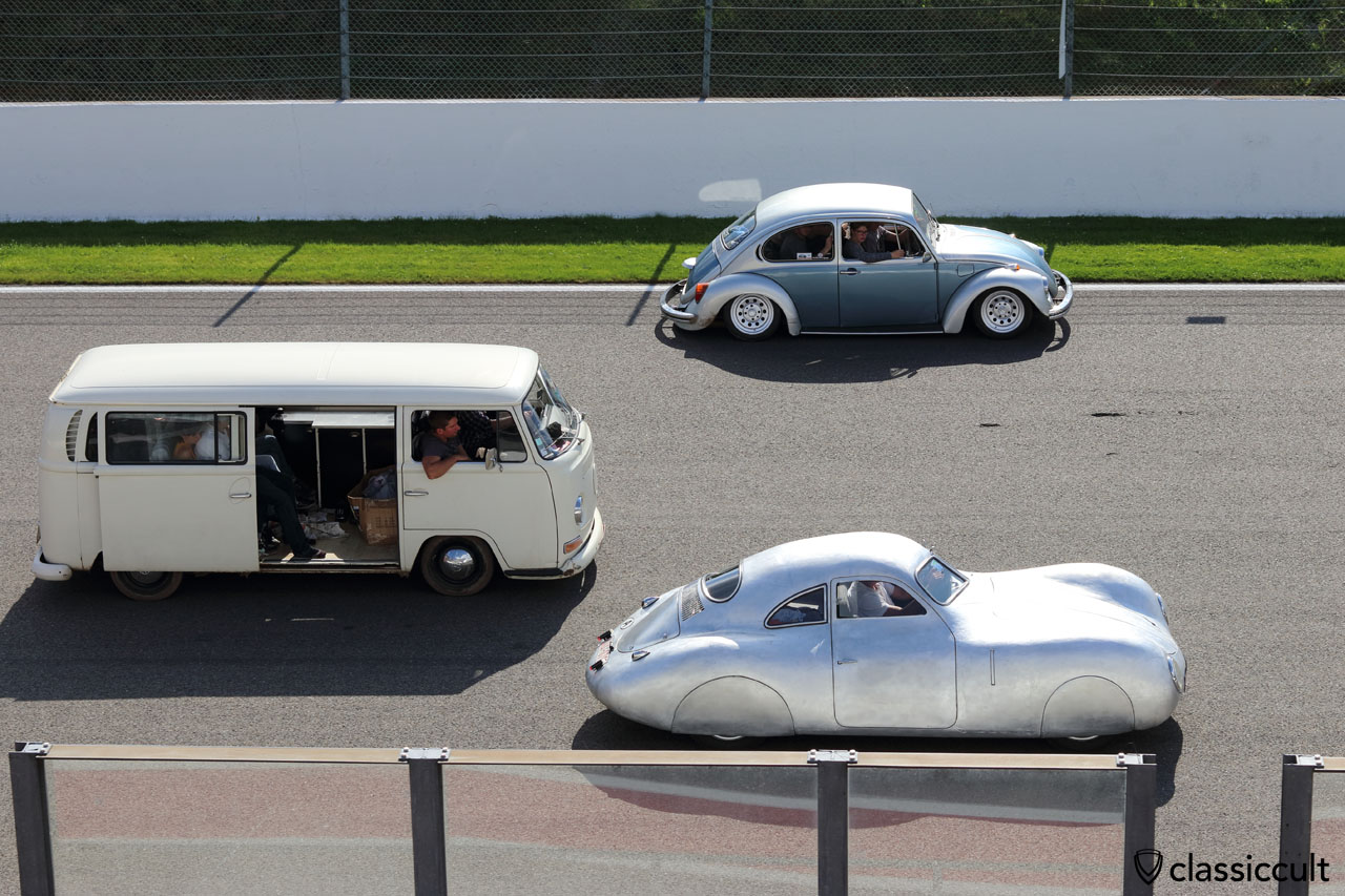 WOW, KdF Berlin-Rome race car IIIA 0703, handmade Porsche type 64, owner Michael Barbach