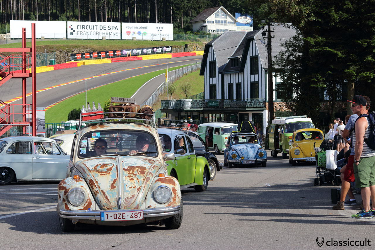 VW Beetle from Belgium, parade finish
