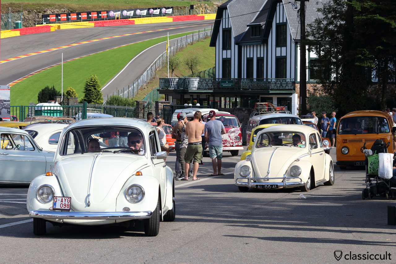 VW Beetle from Belgium and Netherlands, parade finish
