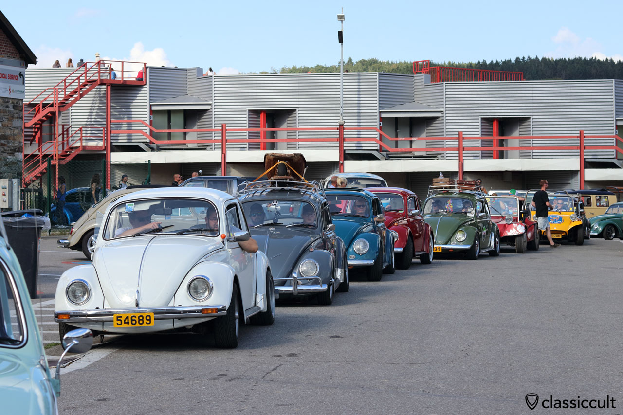 Bug Show Spa VW Beetle Parade 2016